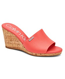 Women's Britta Wedge Sandals, Created for Macy's