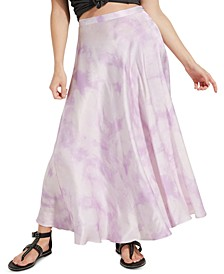 Arielle Tie-Dyed Slip Skirt
