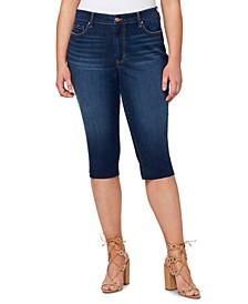 Trendy Plus Size Adored Slim Knicker Skinny Jeans
