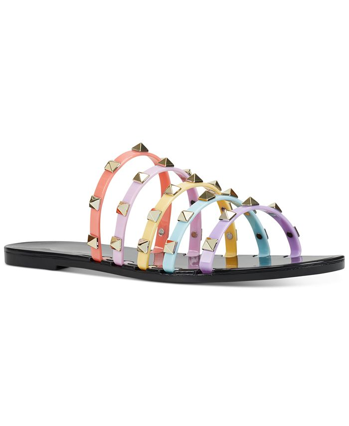 Nine West - charli studded jelly sandals