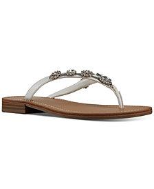 Nine West Women's X Neil Lane Perfect Flat Thong Sandals