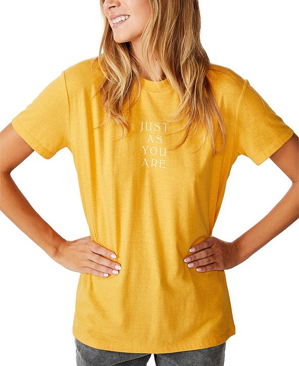 COTTON ON Just As You Are T-Shirt