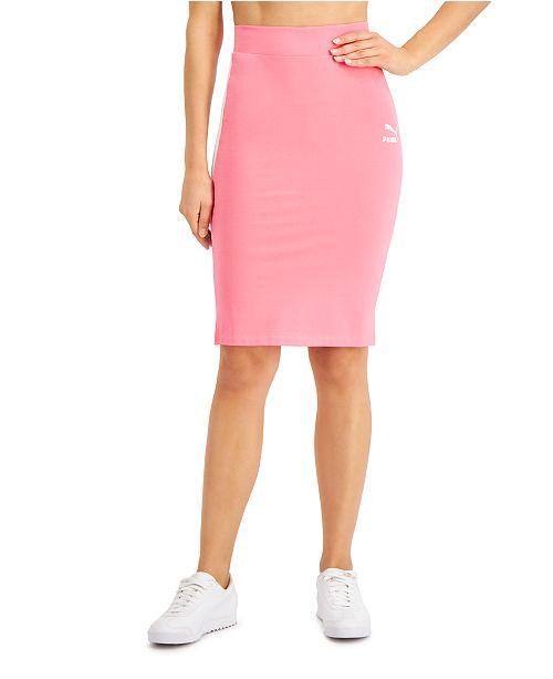 Puma Women's Classics Fitted Skirt