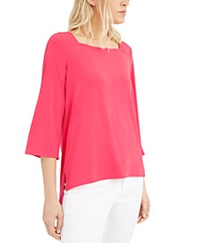Square-Neck Blouse, Created For Macy's