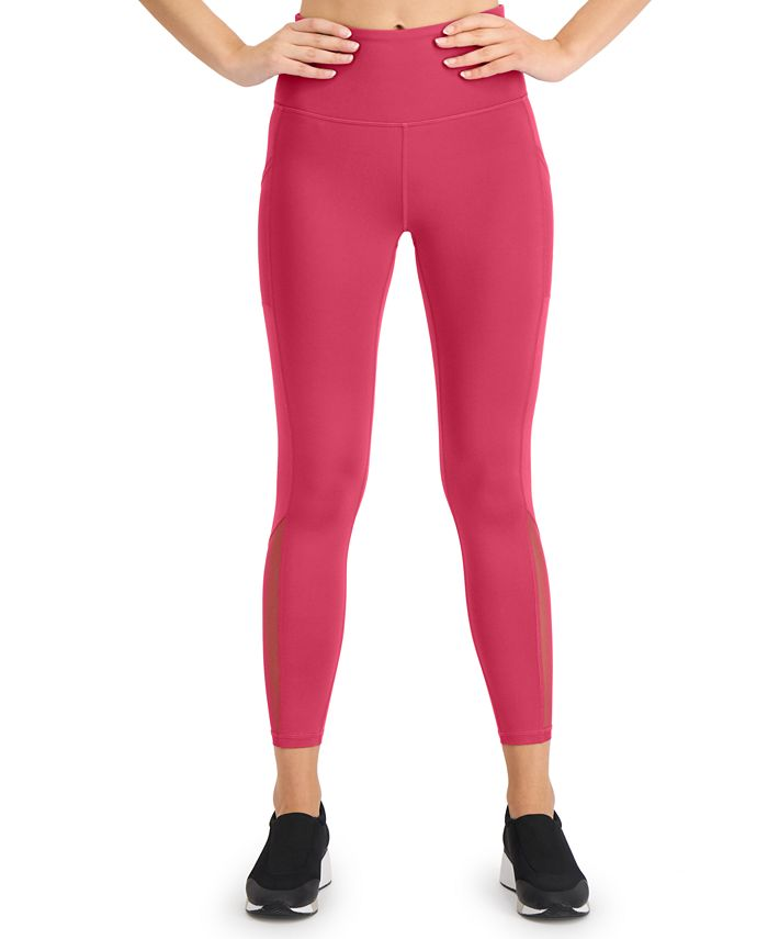 Ideology - Mesh-Trimmed Leggings