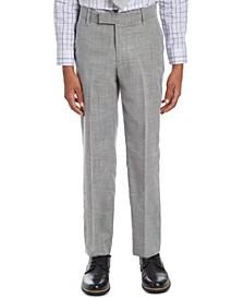 Big Boys Stretch Dobby Suit Pants