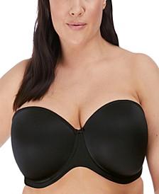 Women's Plus Size Smooth Underwire Molded Strapless Bra EL4300