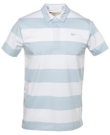 Men's Striped Polo Shirt