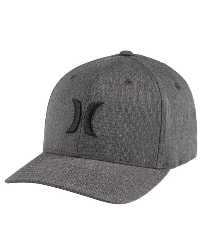 Hurley Men's One And Only Texture Flexfit Logo Hat & Reviews - Hats, Gloves & Scarves - Men - Macy's