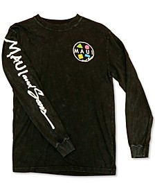 Men's Neon Cookie Logo Long Sleeve T-Shirt
