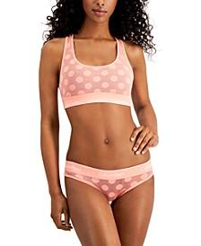 Dot Unlined Bralette & Bikini
