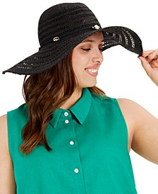 Golden Shells Floppy Hat