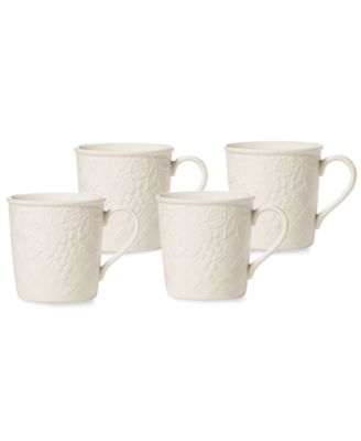 Dinnerware Set of 4 English Countryside Mugs  sc 1 st  Macyu0027s & Mikasa Dinnerware English Countryside Collection - Dinnerware ...