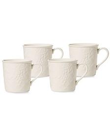 Mikasa Dinnerware, Set of 4 English Countryside Mugs