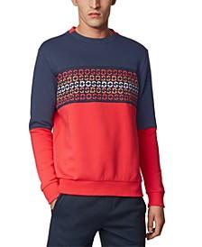 BOSS Men's Salbo Iconic Cotton-Blend Sweatshirt