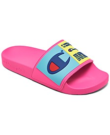 Big Girls IPO Select Slide Sandals from Finish Line