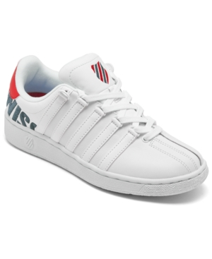 Mens Retro Shoes | Vintage Shoes & Boots K-Swiss Mens Classic Vn Xl Logo Casual Sneakers from Finish Line $65.00 AT vintagedancer.com