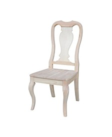 Queen Anne Chairs, Set of 2
