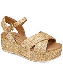 Virginia Wedge Sandals