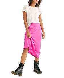 Normani Bias Midi Skirt