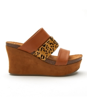 Matisse Gina Wedge Sandal Women's Shoes In Brown