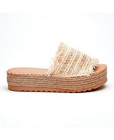 Coconuts By Matisse Seashell Platform Sandal