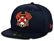 Kids Atlanta Braves 2020 Clubhouse 59FIFTY-FITTED Cap
