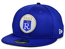 Kids Kansas City Royals 2020 Clubhouse 59FIFTY-FITTED Cap