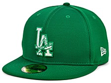 Los Angeles Dodgers 2020 Men's St. Pattys Day Fitted Cap