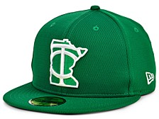 Minnesota Twins 2020 Men's St. Pattys Day Fitted Cap