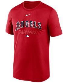 Los Angeles Angels Men's Authentic Collection Legend Practice T-Shirt