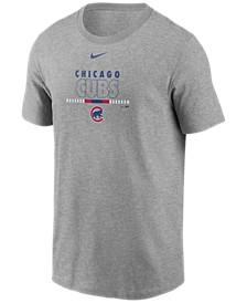 Chicago Cubs Men's Swoosh Wordmark T-Shirt