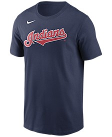 Cleveland Indians Men's Swoosh Wordmark T-Shirt