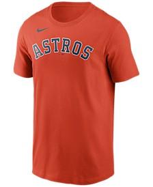 Houston Astros Men's Swoosh Wordmark T-Shirt