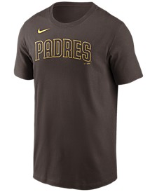 San Diego Padres  Men's Swoosh Wordmark T-Shirt