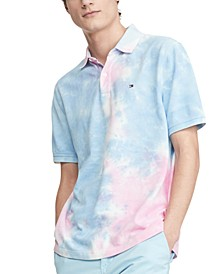 Men's Ivy Classic-Fit Tie-Dyed Polo Shirt