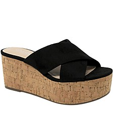 Civil Wedge Sandals