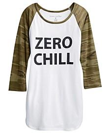 Juniors' Zero Chill T-Shirt