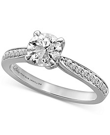 Diamond Engagement Ring (1-1/4 ct. t.w.) in 14k White Gold