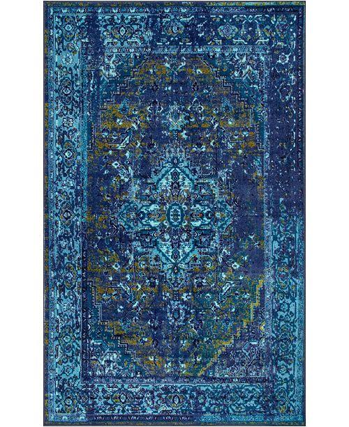 nuLoom Giza Vintage-Inspired Persian
