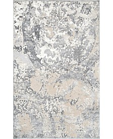 Cyme Vintage-Inspired Natalya Gray 5' x 8' Area Rug