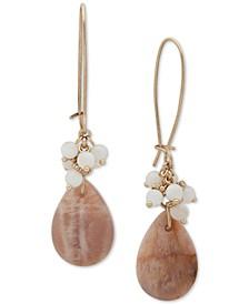 Stone Teardrop Earrings