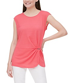 Side-Gathered Top