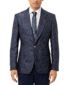 Men's Slim-Fit Vibrante Paisley Dinner Jacket