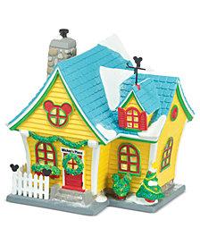 department 56 mickeys village mickeys house collectible figurine