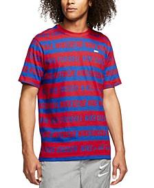 Men's Soccer Graphic T-Shirt
