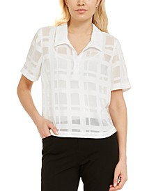 Grid-Print Shirt, Created for Macy's