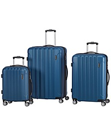 Santa Clara Collection Lightweight Spinner 3 Piece Luggage Set