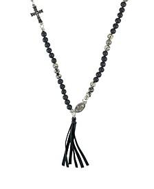 Secret Ceremony Dalmatian Stone Necklace