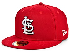 St. Louis Cardinals Authentic Collection 59FIFTY Cap